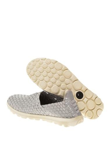 Greyder Yürüyüş Ayakkabısı Gümüş